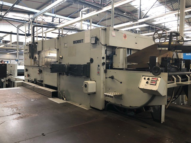 AUTOMATIC DIE CUTTER BOBST