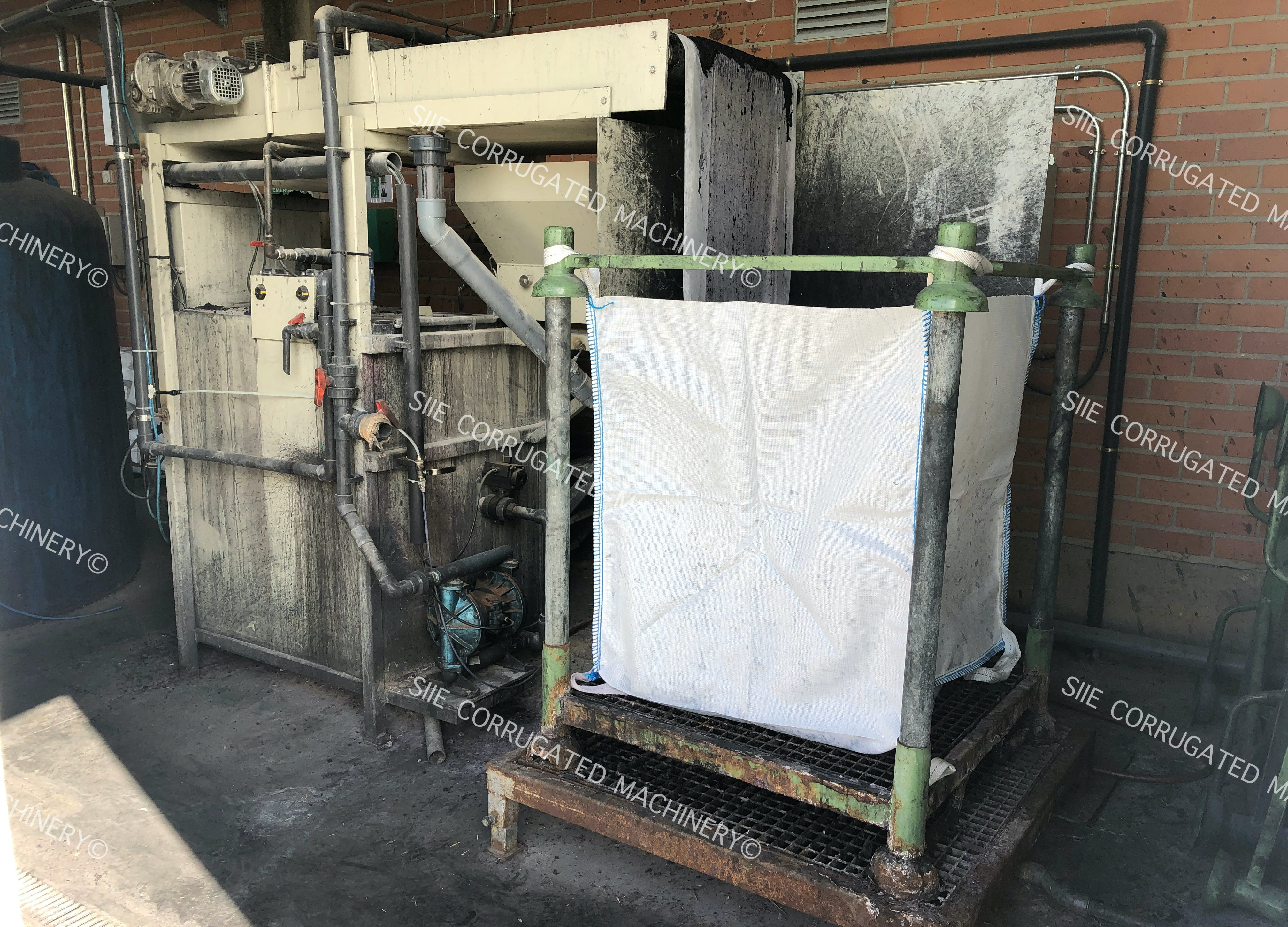 WASTE WATER TREATMENT PLANT SOLME 600